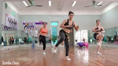 最近很火的减肥健身操,暴汗燃脂瘦身操,健美操视频一天瘦一斤