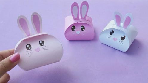 宝宝学折纸:手把手教你做可爱的折纸兔子,小
