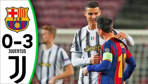 欧冠-C罗点球梅开二度梅西无功 尤文3-0巴萨夺头名
