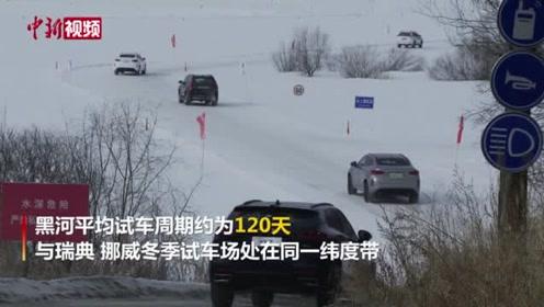 """黑龙江黑河首届寒区试车节启幕车企组团""""约驾""""冰天雪地"""