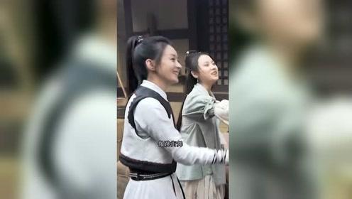王一博拍戏现场,随手就是街舞范儿,赵丽颖都模仿不来!