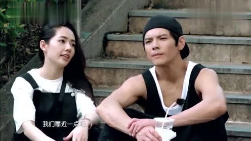 郭碧婷想近距离接触肌肉男,向佐立马宣誓主权:她是我未婚妻!