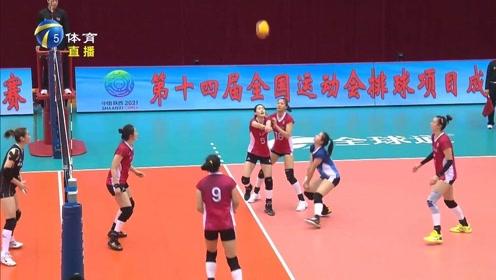 全运女排预赛:河南晋级在望,辽宁止跌反弹