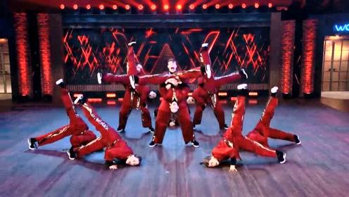 舞者的音乐契合度有多强,看看这个就知道了