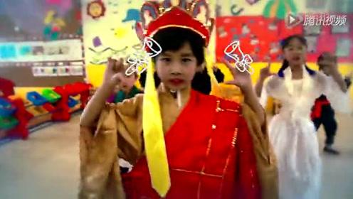 小朋友学跳《八戒八戒》广场舞也能萌萌哒