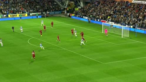 【官方】哈镇0-1利物浦 沙奇里助攻萨拉赫破门