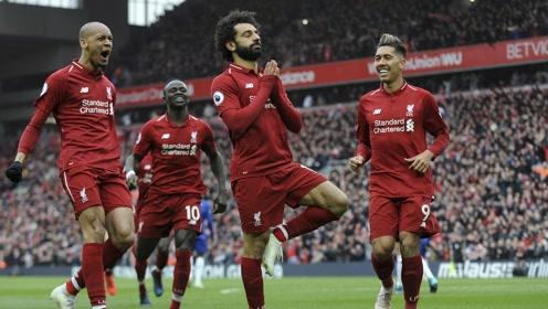 【集锦】利物浦2-0切尔西 马内萨拉赫两分钟两球重回榜首