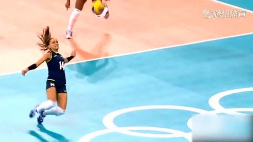你确定巴西女排没练过足球?世界女排史上十大逆天救球