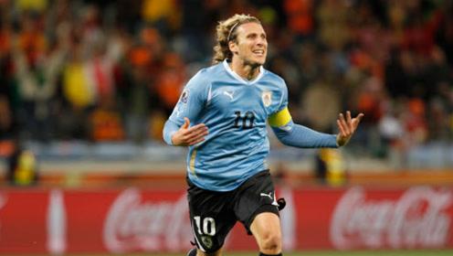 乌拉圭著名球星:迭戈-弗兰在杰志队效力的集锦