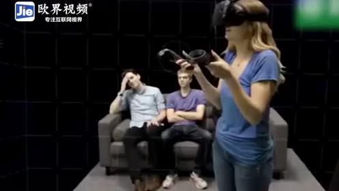 这场面太壮观了!虚拟现实相互交融,深深的被
