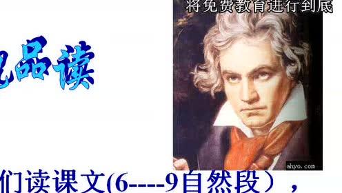 七年级语文下册13 音乐巨人贝多芬(何为)