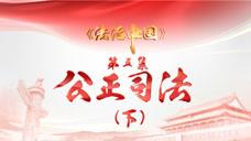《法治中国》第五集《公正司法》 下预告片