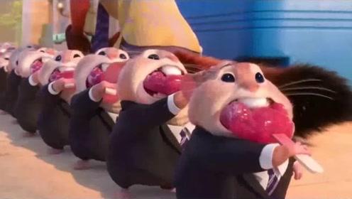 疯狂动物城:爪爪冰棍超精致,仓鼠排队吃冰棍太可爱了!