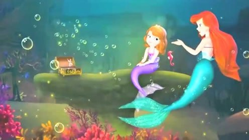 小公主苏菲亚:女王要号令暴风雨席卷海上皇宫,美人鱼公主来援救