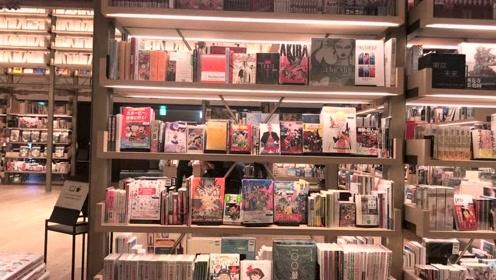 银座茑屋书店,霓虹文青最爱地,读书氛围超浓厚