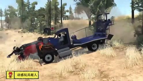 热门单机游戏,模拟撞车摔车视频精彩剪辑42