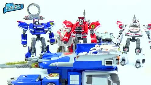 变形金刚:小朋友动手益智拼装机器人,开发孩