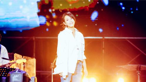 """刘若英和粉丝对喊讲相声,粉丝大喊""""不要""""不"""