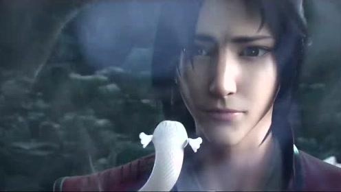 美杜莎女王进化成功后,竟成了小白蛇,萧炎看得满脸懵圈!