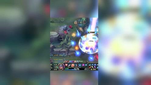 LOL:天使爆炸输出极限5杀,这个伤害我怕了!