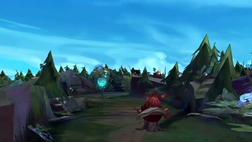 LOL:带你看第一视角的召唤师峡谷,这是一个全