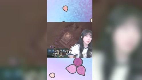 三年前被狮子狗抓哭的韩国女主播,她又来玩游戏了,这次是梦魇!
