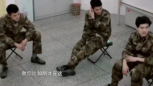真正男子汉:张丰毅正在讲光辉事迹,王宝强一