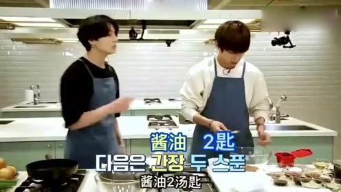 《防弹少年团》教人做菜太难了