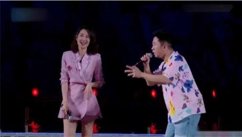 刘敏涛真的太有才了,竟然现场和杨迪即兴说唱