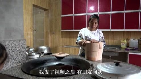 英子买了4个香椿木甑子,今天亲手教大家新甑子第一次怎么使用