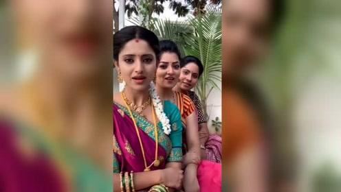 印度美女是不是很美?