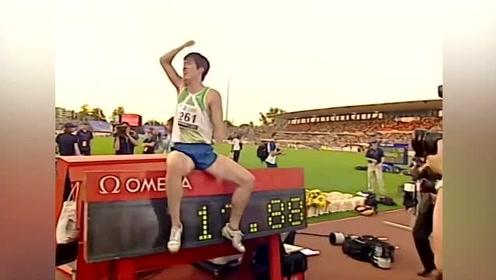 2006年中国飞人刘翔,12秒88打破尘封13年世界纪录!创下了历史