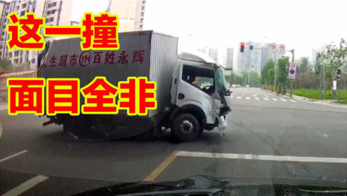 事故警世钟711期:看交通事故视频,提高驾驶技巧,减少车祸