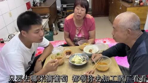 晋北农村最爱吃的美食饸烙面,配上烂腌菜肉臊子,真香!!