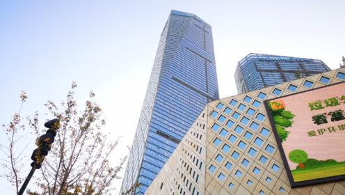 实拍镇江第一高楼,50亿打造的地标性建筑,在江苏能进前三吗?