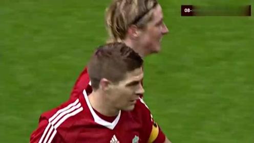 欧冠经典:利物浦4-0皇马,总比分5-0将银河战舰横扫出局