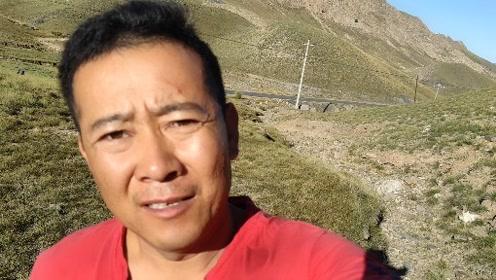 平哥在大山里拍视频,还碰见了一处秦汉长城遗址。