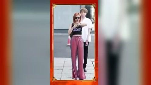 上海街拍一对年轻的小情侣,眼前这一幕,美女好像生气了吧