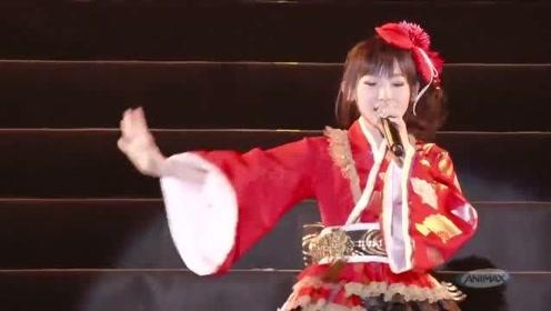 日本动画神曲!炮姐南条爱乃超燃演唱,沸腾了!
