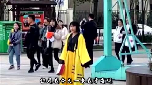 搞笑视频:邻居给我介绍个相亲对象 说是穿古装 特别好认