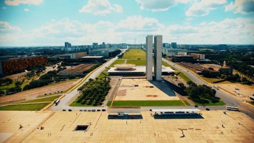航拍巴西巴西利亚