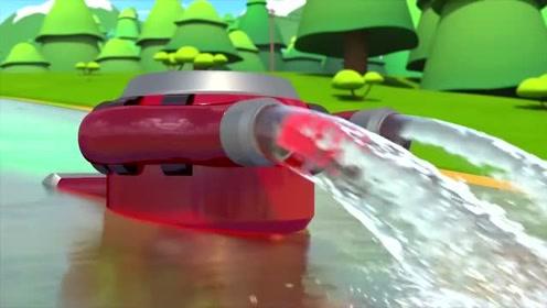 百变布鲁可:小乌龟游得慢,差点喝到污水,还好毅恩救了它
