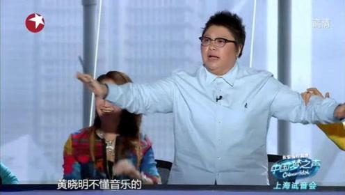 男子唱了一首歌,结果现场控制不住了,韩红直接要签他当歌手