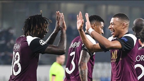 欧冠-内马尔伤退 姆巴佩2助新锋霸破门 巴黎2-0客胜伊斯坦布尔