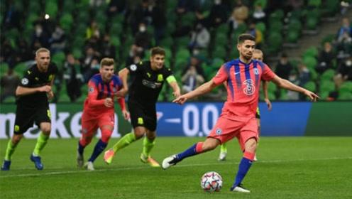 疯狂4-0!欧冠-维尔纳传射 齐耶赫破门 克拉斯诺达尔0-4切尔西
