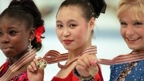 中国花滑历史上第一个世界冠军!欣赏陈露1996年利勒哈默尔冬奥会的表演