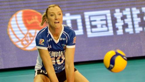 上海女排外援:很高兴回到排超,东京奥运会目标是获得金牌
