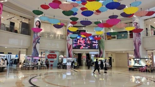 杭州福雷德广场,源自澳大利亚(FRID)的商业综合体,人气惨淡