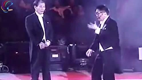 黄霑顾嘉辉同台合作,两人玩得太豪迈洒脱了,现场就是舒服!
