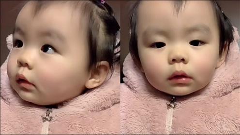 1岁多萌娃关联想象模仿警车消防车救护车声音逗乐网友